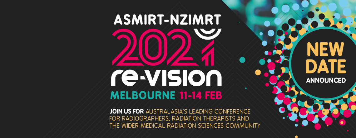 ASMIRT-NZIMRT JOINT CONFERENCE NEW DATES- 2021 VISION